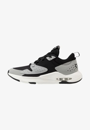 AIR CADENCE - Sneakers basse - black/sail/light smoke grey/dark smoke grey/gym red