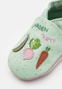 Robeez - CHIC GARDEN - First shoes - vert clair - 5