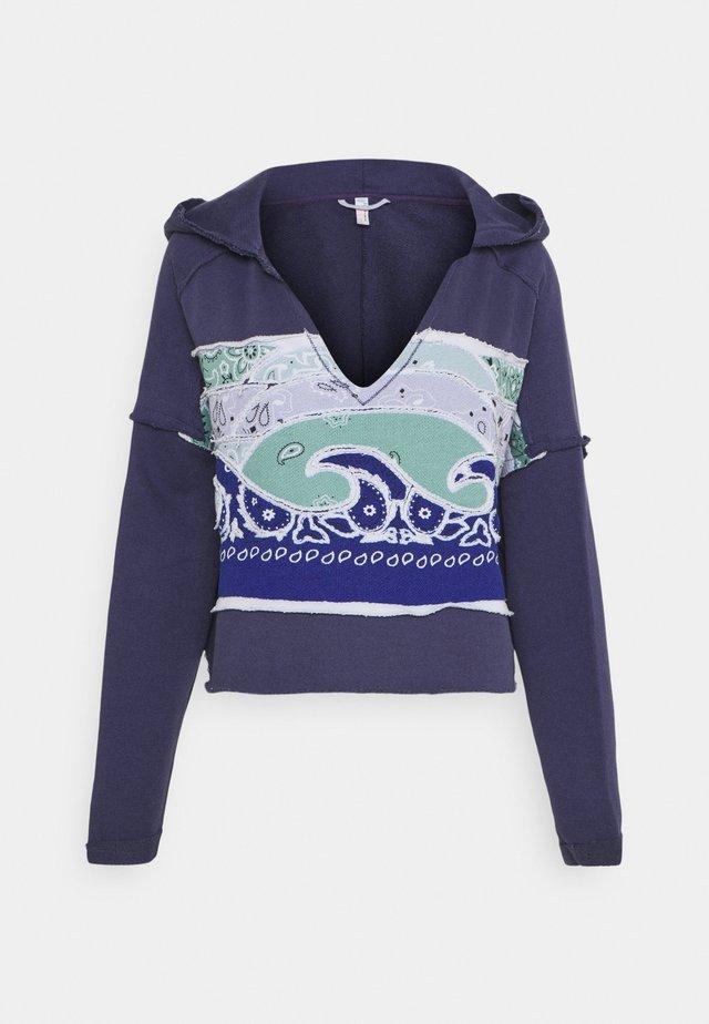 ALL TIME BANDANA SUNSET - Sweatshirt - indigo blue