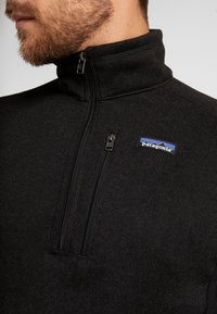 Patagonia - BETTER 1/4 ZIP - Sweat polaire - black - 5