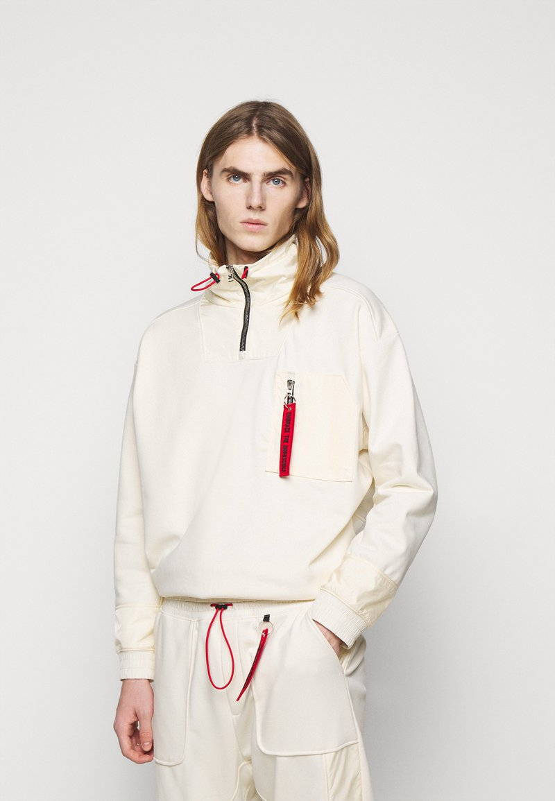 HUGO - DAMBOO - Sweatshirt - natural