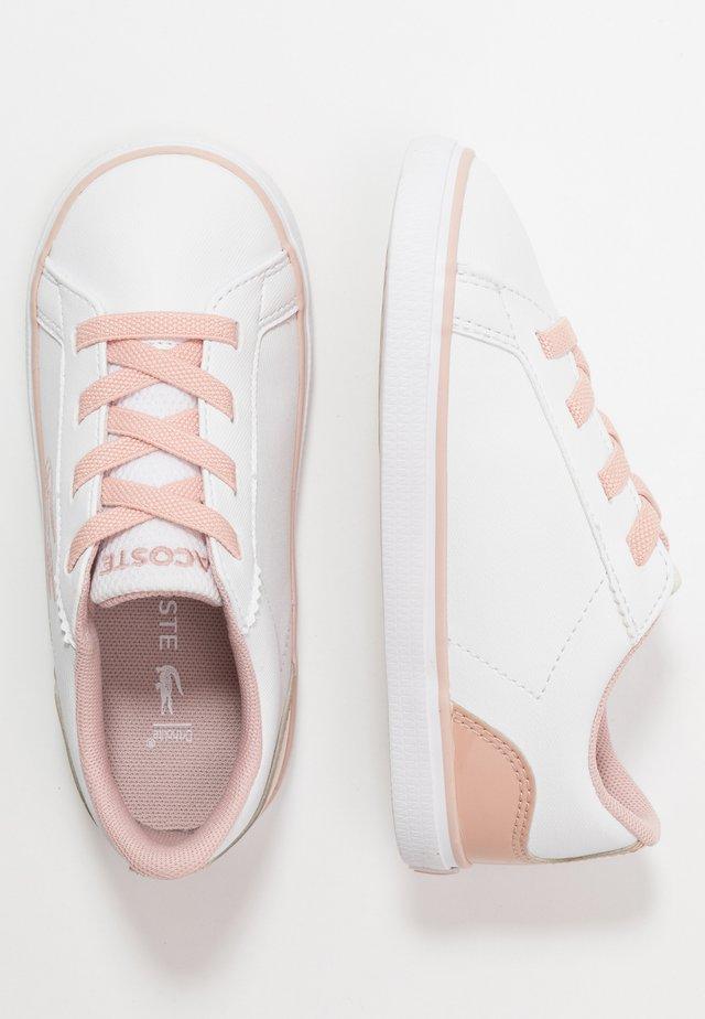 LEROND - Slip-ons - white/natur