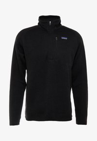 Patagonia - BETTER 1/4 ZIP - Sweat polaire - black - 4