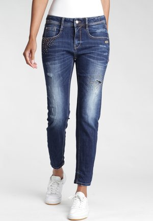 FIT AMELIE CROPPED - NORI  - Relaxed fit jeans - strong gold vint