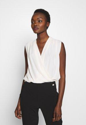 INES BODY HABOTAI - Bluse - white