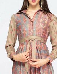NIZA - Shirt dress - melocoton - 3