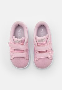 Puma - SMASH GLITZ GLAM - Baskets basses - pink lady - 3