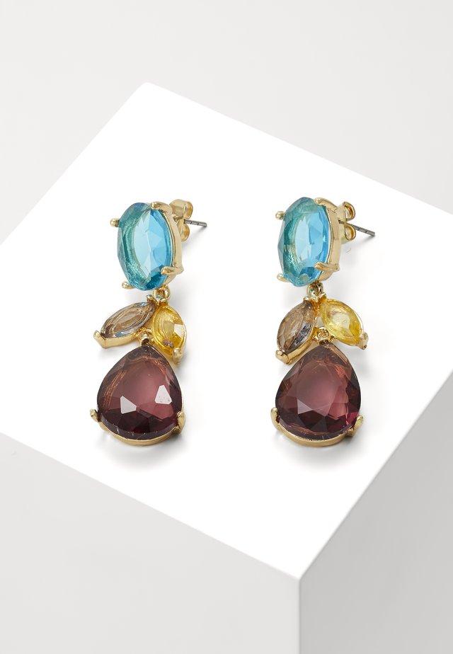 ONLDAHLIA EARRING - Øredobber - gold-coloured