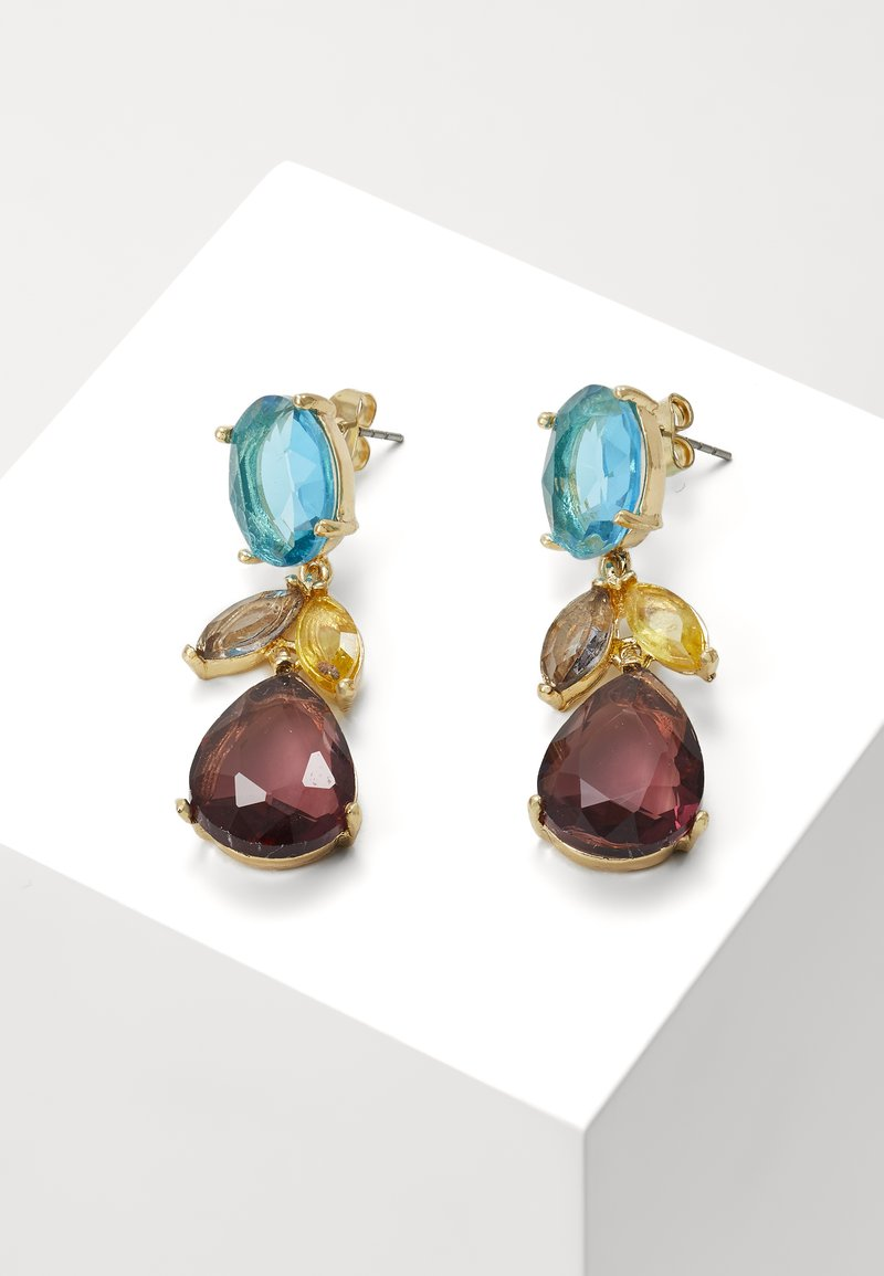 ONLY - ONLDAHLIA EARRING - Orecchini - gold-coloured