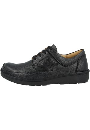 NATURE II - Zapatos con cordones - black grained leather (26142039)