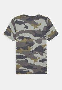 Abercrombie & Fitch - MULTIMEDIA TECH LOGO - Print T-shirt - beige - 1