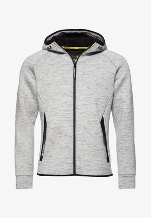 CORE GYM TECH - Sweatjacke - light gray