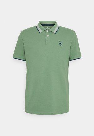 UNDERCOLLAR WORDING - Poloshirt - light mint green