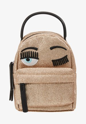 FLIRTING GLITTER MINI BACK PACK - Rucksack - gold