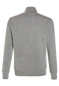 Benetton - Zip-up hoodie - light grey - 1