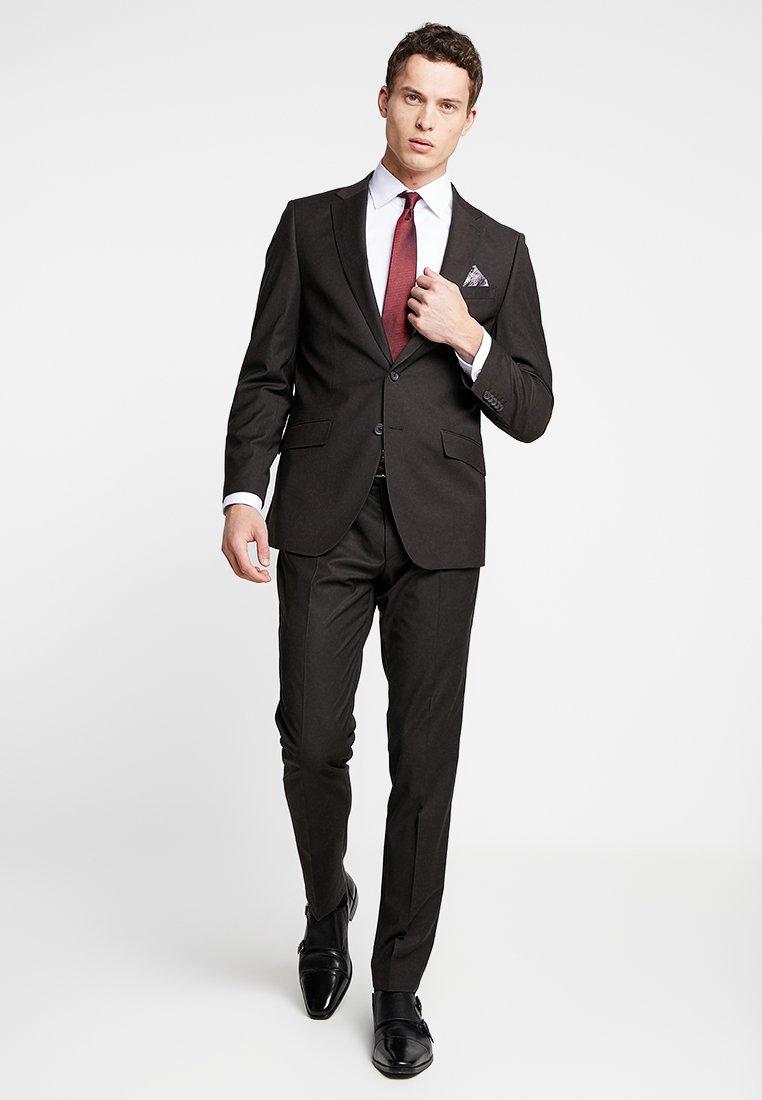 Bugatti - SUIT REGULAR FIT - Suit - dark brown