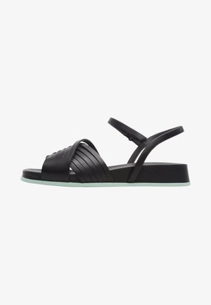 ATONIK - Wedge sandals - black