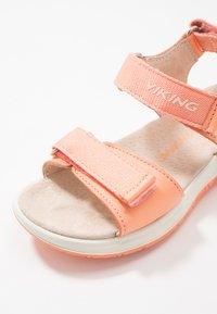 Viking - OLIVIA - Walking sandals - coral/light pink - 5