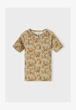 T-shirt print - silver sage