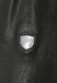 Gipsy - DAVIN - Skinnjacka - black - 2