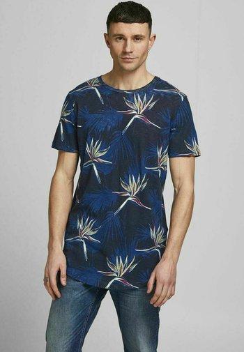 JORFLORALL - T-shirt med print - navy peony