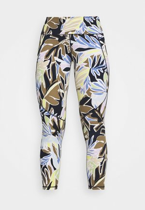 POWER WORKOUT 7/8 LEGGINGS - Tights - green paper