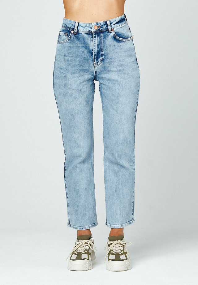 Straight leg jeans - light-blue denim