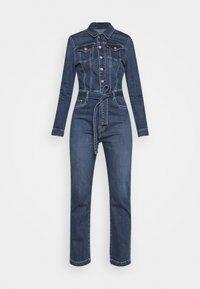 Pepe Jeans - DUA LIPA X PEPE JEANS - Jumpsuit - blue denim - 3