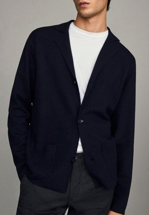 Blazer jacket - blue-black denim