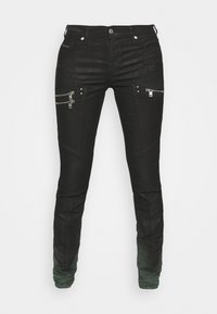 Diesel - D-OLLIES-BK-SP-NE JOGGJEANS - Slim fit jeans - black - 3
