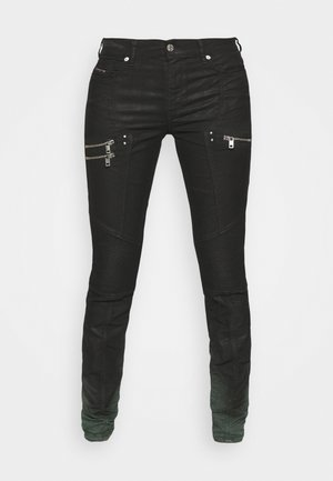 D-OLLIES-BK-SP-NE JOGGJEANS - Jeans slim fit - black