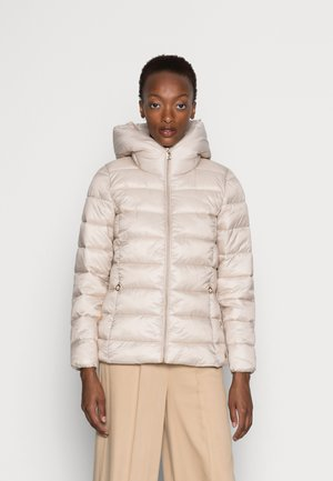 PER LL F THINSU - Down jacket - cream beige