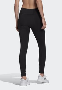 adidas Performance - LIN LEG - Leggings - black/white - 1