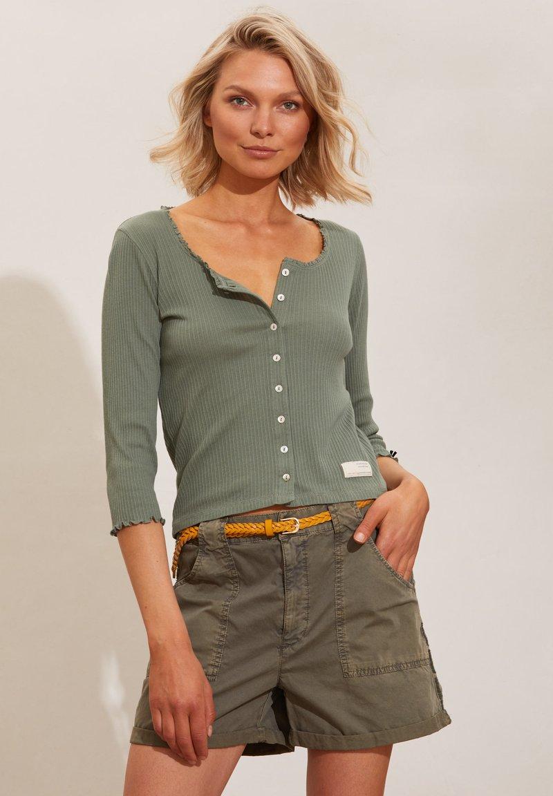 Odd Molly - MAGDA - Cardigan - cargo green