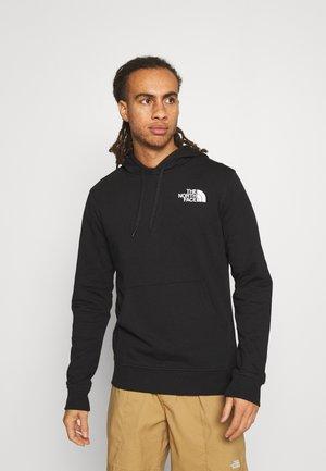 IC CLASSIC HOODIE CLIMB - Bluza z kapturem - black