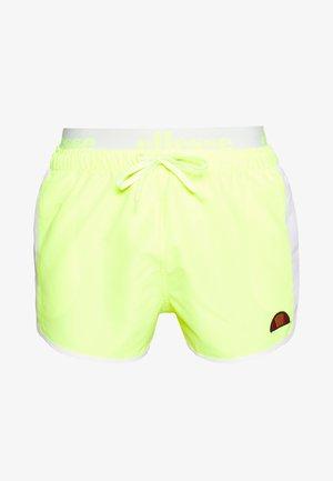 NASELLO - Badeshorts - neon yellow