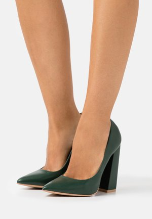 ADELAIDE - High heels - forest green matt