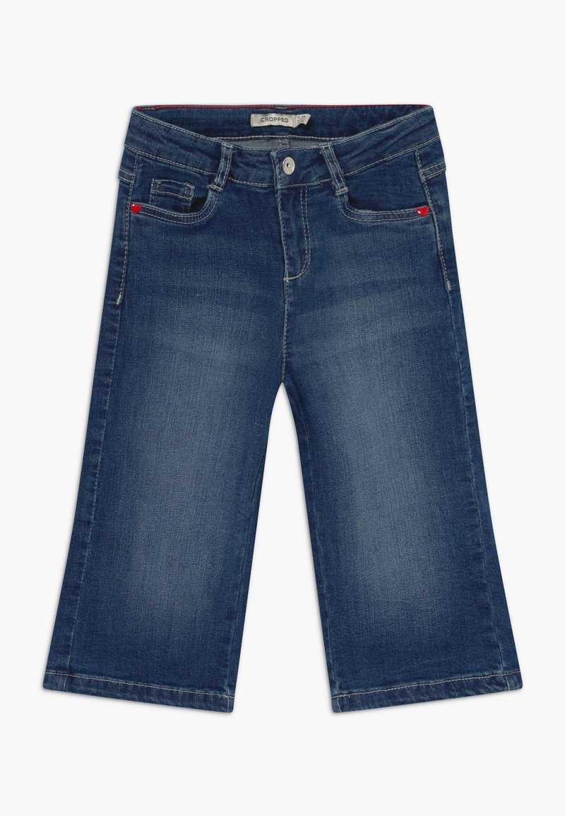 OVS - CROPPED  - Bootcut jeans - ensign blue