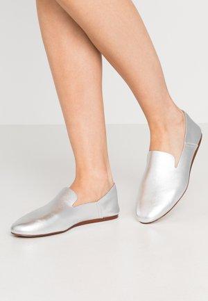Slip-ons - silver