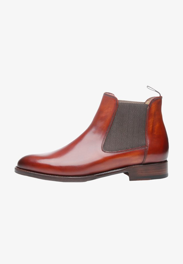 NO. 2350 - Ankle boots - brandy