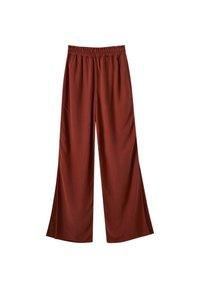 PULL&BEAR - Spodnie materiałowe - brown - 0