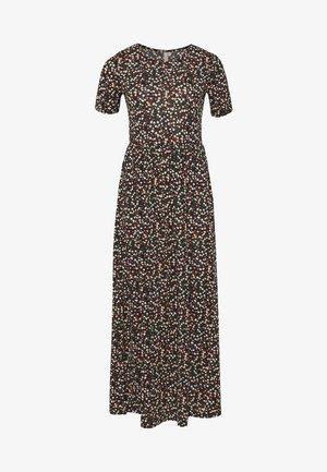PCAMELINE ANKLE DRESS - Maxi dress - black