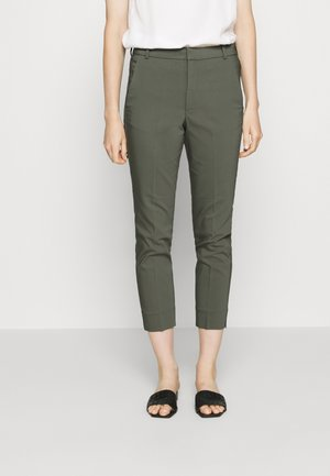 ZELLA PANT - Chinos - beetle green