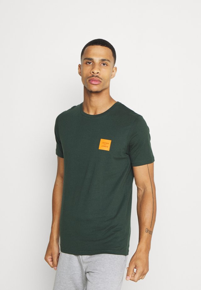 JCOJAY TEE CREW  NECK - T-shirt basique - darkest spruce