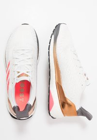 adidas Performance - SOLAR BOOST ST 19  - Neutral running shoes - crystal white/signal pink/copper metallic - 1