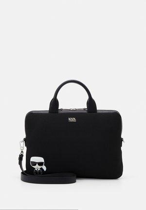 IKONIK LAPTOP UNISEX - Laptop bag - black