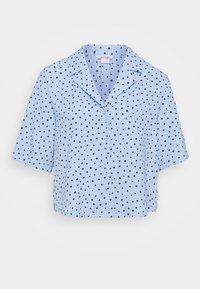 TANI BLOUSE - Button-down blouse - blue light