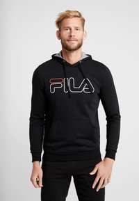Fila - WILLIAM - Felpa con cappuccio - black - 0