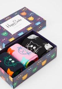 Happy Socks - MIXED CAT GIFT SET 3 PACK - Socken - multi - 2