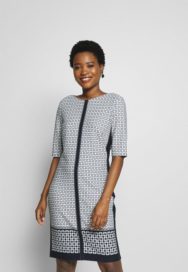 KLEID - Sukienka z dżerseju - navy/ offwhite
